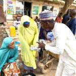 Governor Matawalle Gives Relief Fund To Thousands Of People In Gusau