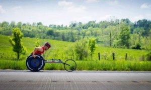 Ryan Chalmers in the Push Across America