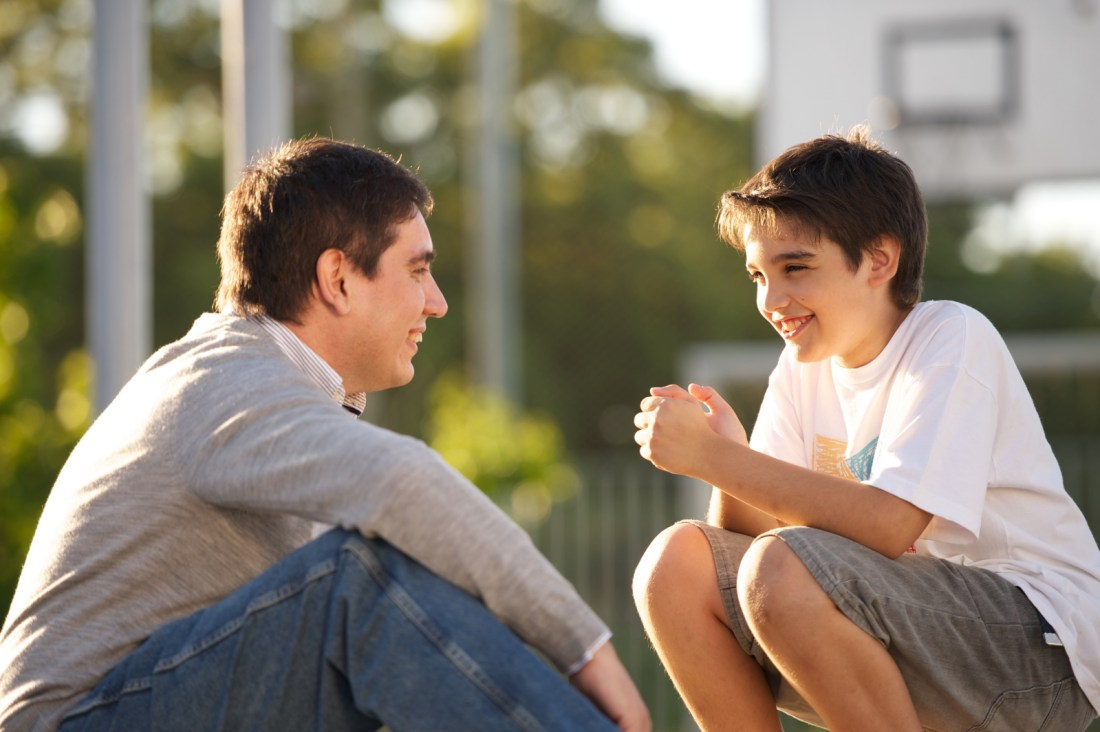 father-son-talking-
