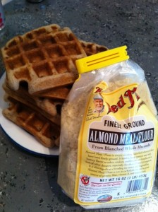 waffles and almond flour