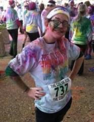 The Kid at Color Run