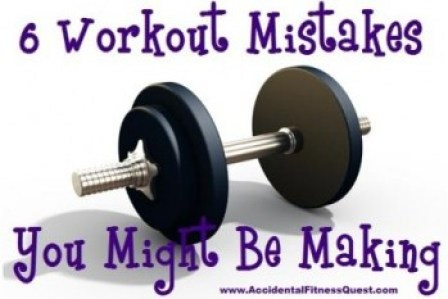 Workout Mistakes