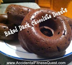 Baked-Dark-Chocolate-Donuts