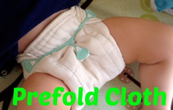 A Beginner's Guide to Prefold Cloth Diapers: Information about why to use them, how to use them, and what our changing and wash routines are like! On the fence about whether prefolds might be for you? Get more information about how they can work for you and your family here!