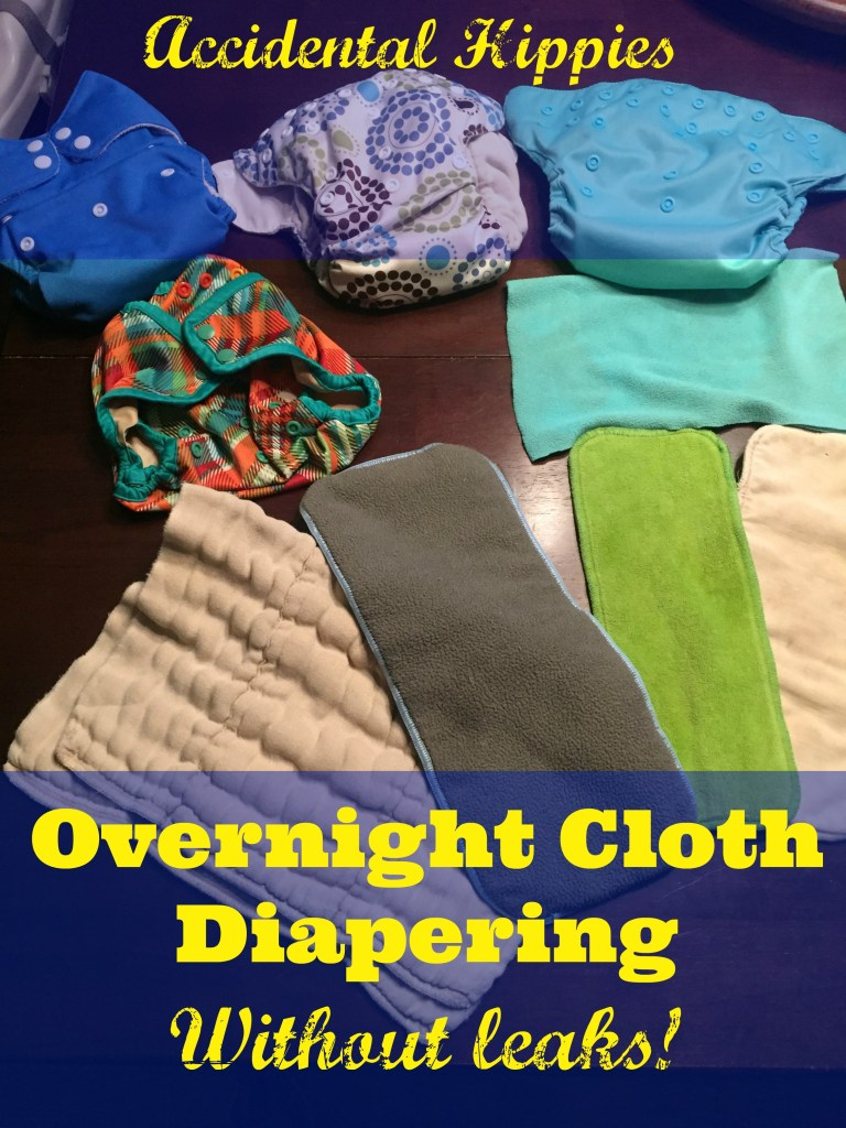 Nighttime Cloth Diaper Solutions