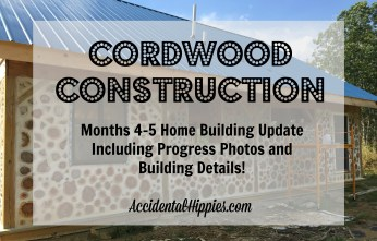 Even though we're back at school, our cordwood homestead building project is still very much in progress! See how much we were able to complete in the last month and a half with plenty of progress shots!