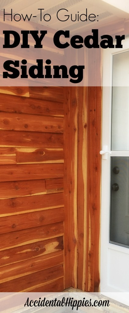 A guide to using your own rough cut cedar to side sheds, cabins, homes, and more for up to 80% less than prefab siding from the big box stores!