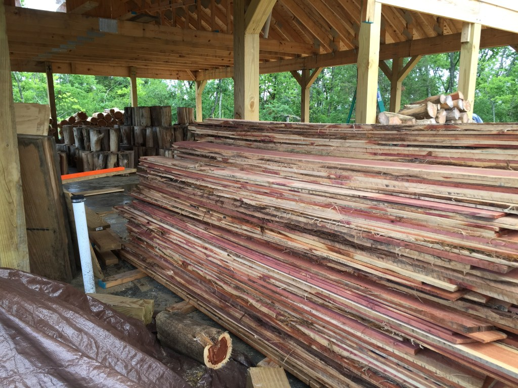 Learn how we took this rough cut cedar and turned it into beautiful lap siding!