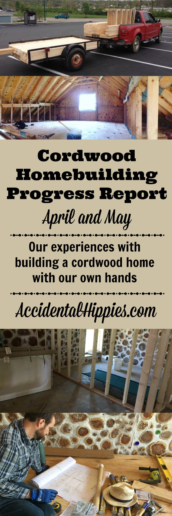 Building a cordwood house | Stud Framing | Subfloor | Quitting job to homestead