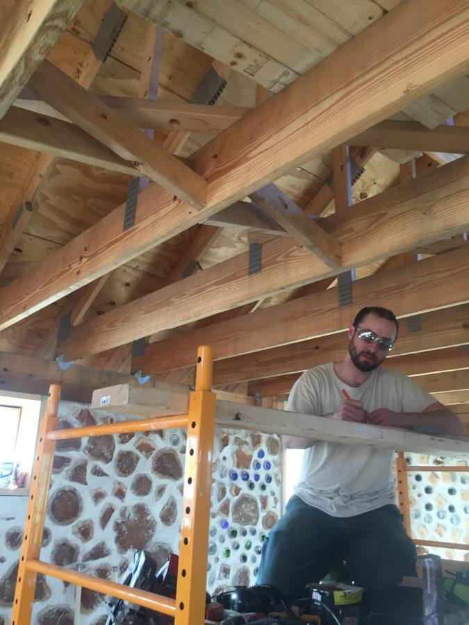 DIY cross bracing for floor joists
