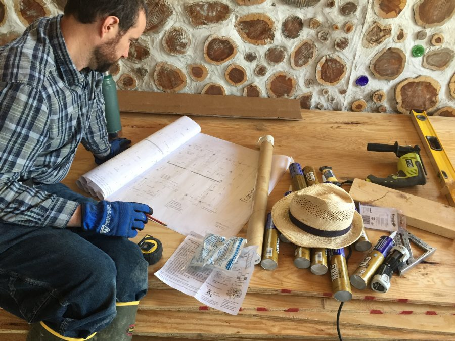 We're in months 10-11 of building our own cordwood home from scratch. Check out our progress!