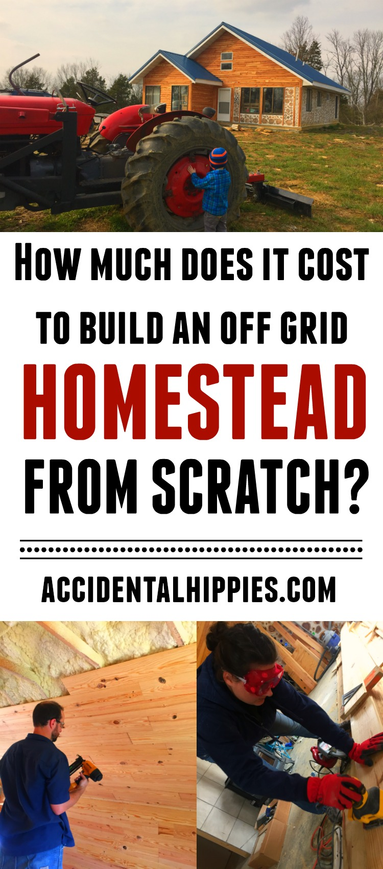 Get a better idea of what it really costs to build a homestead from scratch. Check out our cordwood house and learn the true cost to build from start to finish.