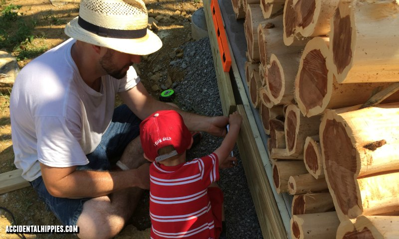 Our young son helped us build our house from scratch. Find out what we did to help keep him safe, let him feel involved, and still manage to get stuff done!