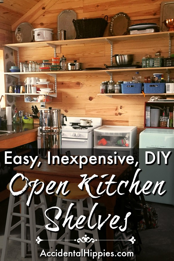 The Benefits Of Open Shelving In The Kitchen: How To Build Cheap Open Kitchen Shelves