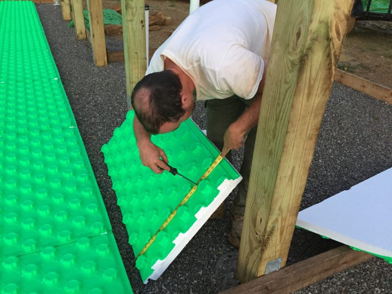 Crete Heat is an insulation/vapor barrier/system for holding radiant heat pipes all in one. We used it to install radiant heat in our off grid home. Here's everything we learned!