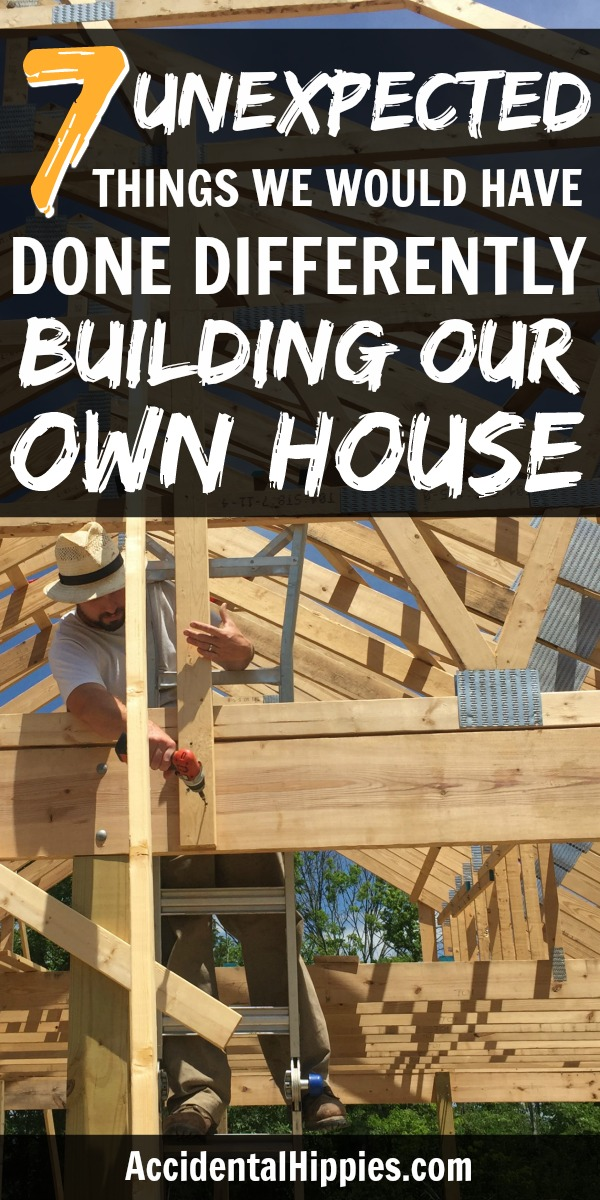 No homebuilding project is perfect. Here are seven mistakes we made that most people wouldn't think of, and how you can learn from them to build a better house for you and your family.