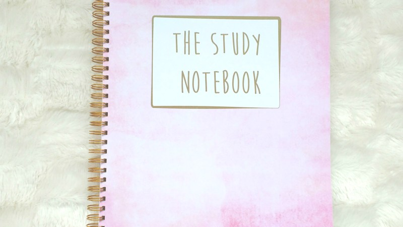 The Study Notebook