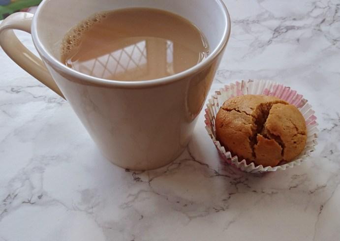 Vegan Salted Caramel & Peanut Butter Muffins for 6 Weight Watchers Smart Points