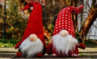 Santa's surprise giveaway