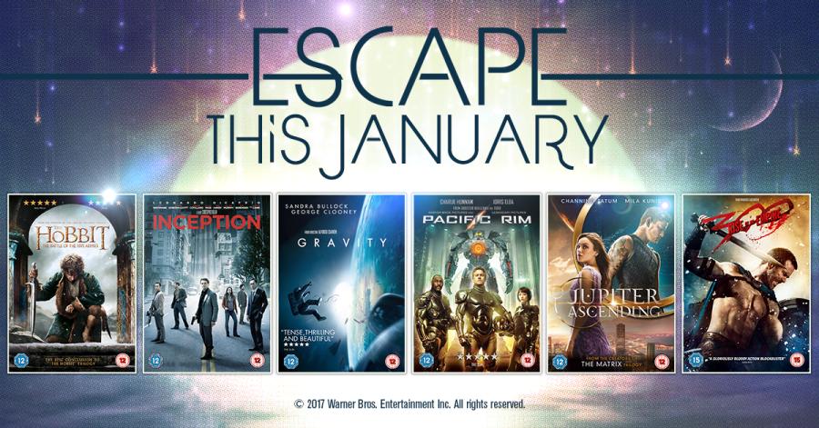 Escape the January Blues