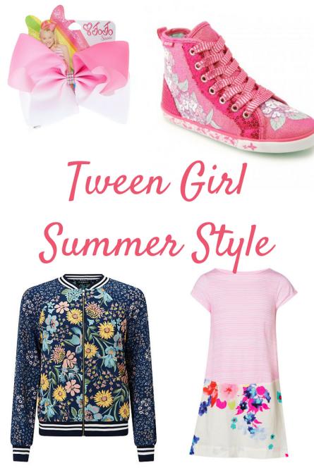 Tween Girl Summer Style