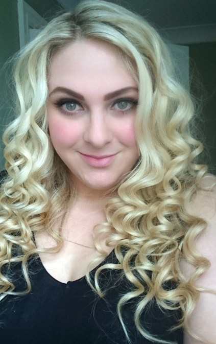 Me, showing off my hair some more! The Best Tips to Give Your Hair Volume
