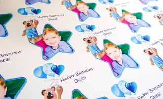 Personalised Birthday Wrapping Paper