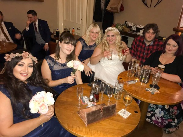 wedding at millfields hotel grimsby