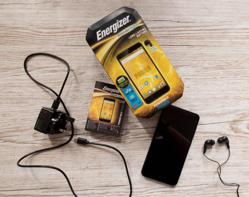 Energizer Powermax P550S Phone Review