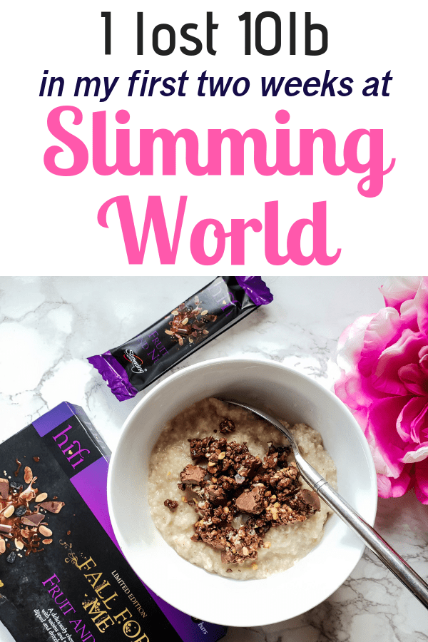 I lost 10lb in my first two weeks at Slimming World, find out what I ate, what I spent my Syns on and my favourite Slimming World breakfasts