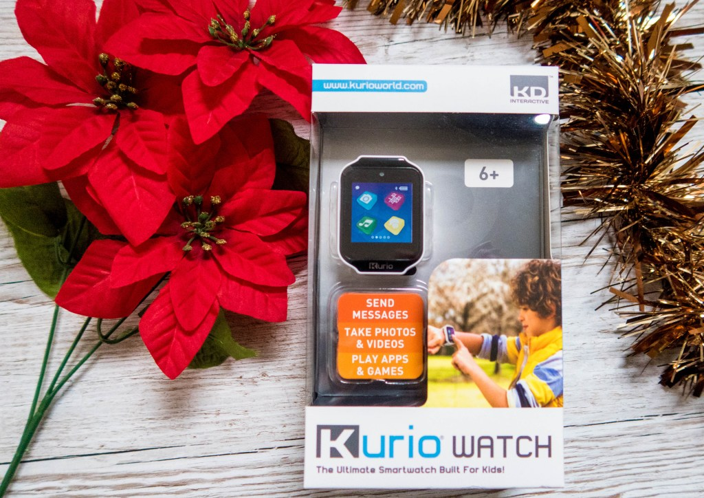 Kurio Kids Smart Watch in White for Tween Girls' Gift Guide - Gift Ideas for Girls Aged 8-12