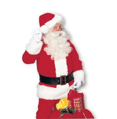 Who doesn't love the old, good Santa? Go for a stylish and authentic Santa look. It may not be the most creative look, but your kids will love it.