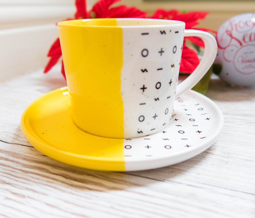 dipped cup and saucer gift ideas for her what to buy your wife