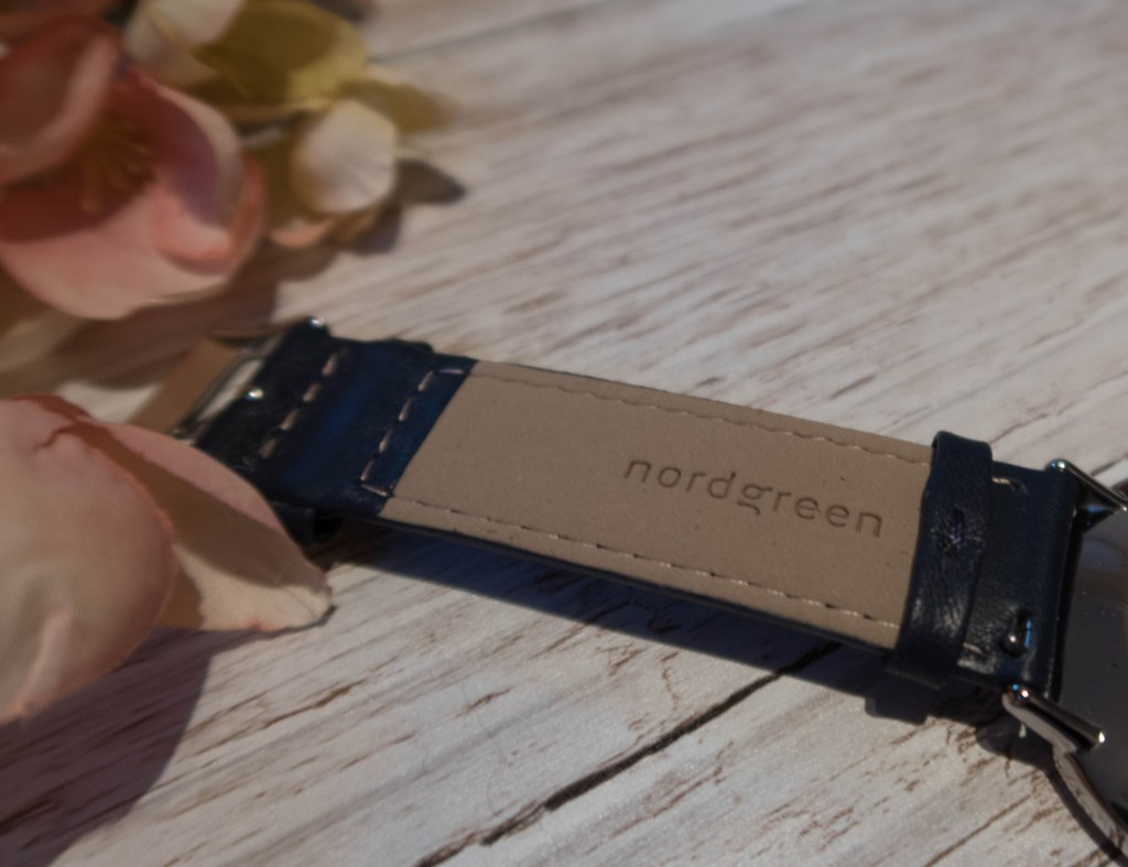 Nordgreen Native minimalist ladies watch branded leather strap