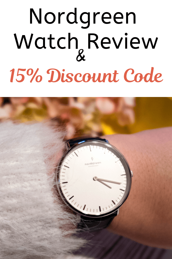 I love my Nordgreen minimalist ladies watch. Read the article for a closer look and 15% off #minimalist #ladieswatch #discount