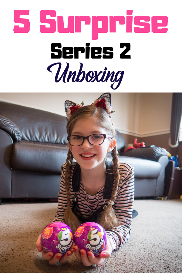 5 Surprise Series 2 has landed and we got to unwrap, peel and reveal a few of the hundreds of new toys available. Check out our 5 surprise unboxing here! #unboxing #zuru #5surprise