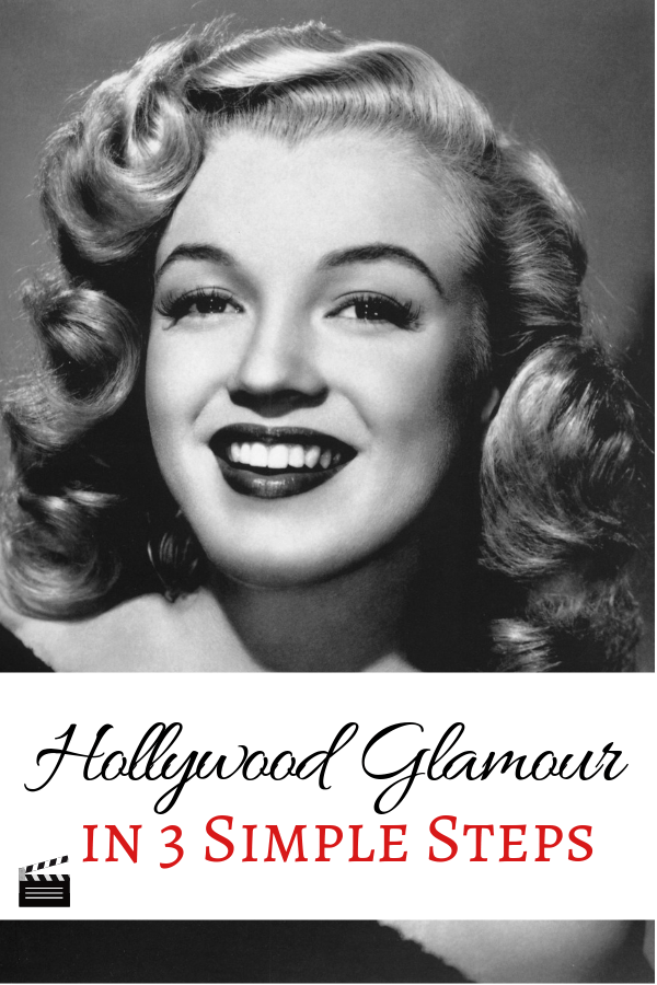 Old Hollywood Glamour is a classic and much coveted makeup look. Whether you're a makeup beginner or a seasoned pro, these 3 simple steps (and 3 easy-to-use products) will help you achieve your Hollywood goals. #hollywood #marylinmonroe #hollywoodglamour