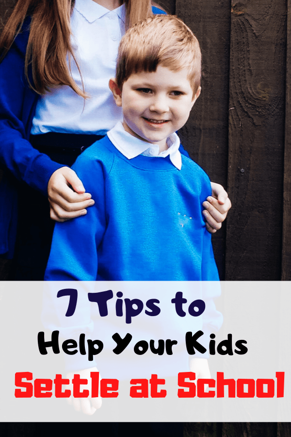 Why your child isn't settling in at school and what you can do to help them settle in. Tips from experienced teachers and my own experience as the mother of an anxious child. #settleatschool #newschool #parentingtips