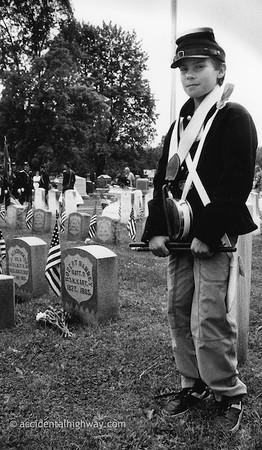 Drummer, Memorial DayWaterloo, New York© karen e. titus | all rights reserved