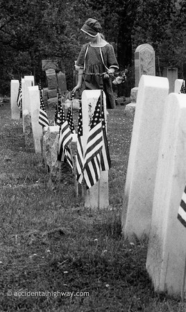 Cemetery, Memorial DayWaterloo, NY© karen e. titus | all rights reserved