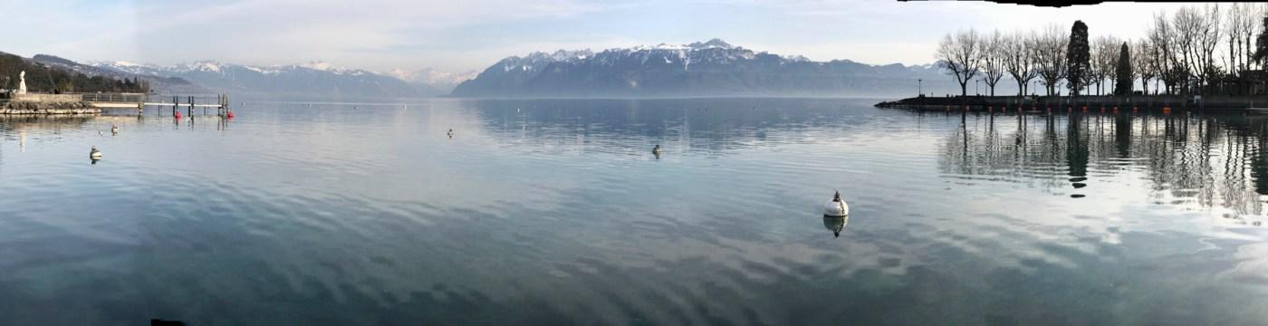 Lac Leman, Lausanne