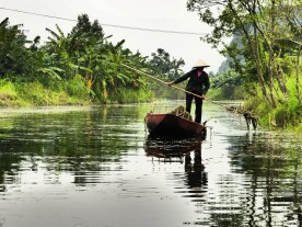 Fishing the old way