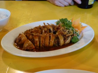 Stuffed Squid - one of our fav dishes