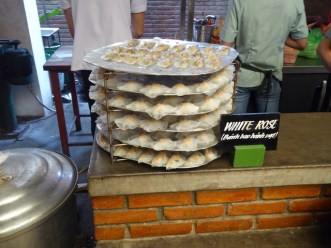 White Rose dumplings, a Hoi An speciality