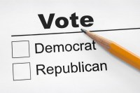 only two political choices in America are Democrat or Republican