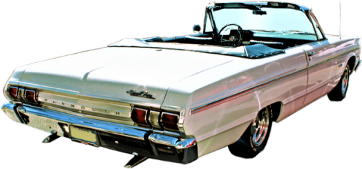 1965-plymouht-fury-convertible-back-view