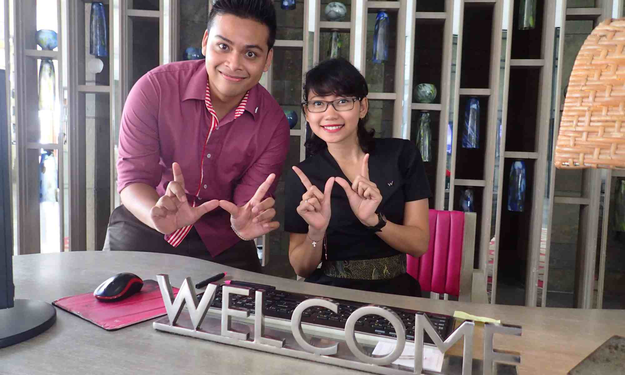 image-of-w-hotel-bali-front-desk-staff