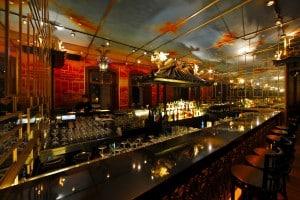 The bar at Hullet House