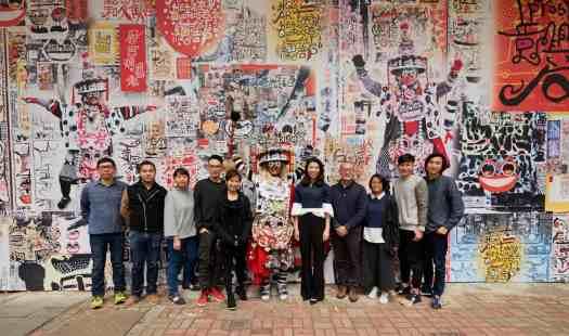 Art-H Queen's_Kristine Li and artists