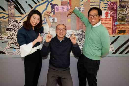 Art H Queen's_Kristine Li, Lam Tung-pang and William Lim